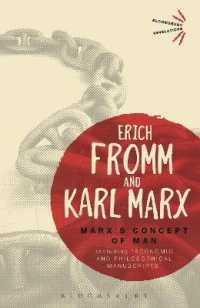 Marx's Concept of Man (Bloomsbury Revelations)