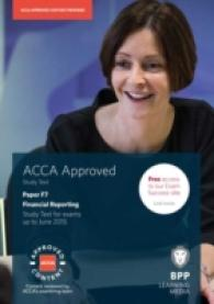 Acca F7 Financial Reporting (International & Uk) : Study Text -- Paperback