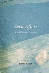 Seek after : On Seven Modern Lyric Poets