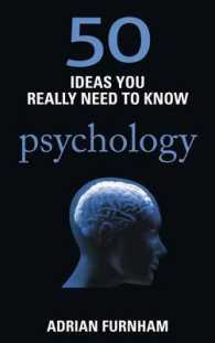 50 Ideas You Really Need to Know: Psychology (50 Ideas You Really Need to Know Series) -- Paperback