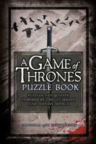 A Game of Thrones Puzzle Book : Puzzles and Quizzes Inspired by the TV Series and Fantasy Novels