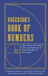 Rogerson's Book of Numbers : The Culture of Numbers from 1001 Nights to the Seven Wonders of the World -- Paperback