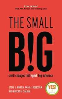 Small Big : Small Changes That Spark Big Influence -- Paperback