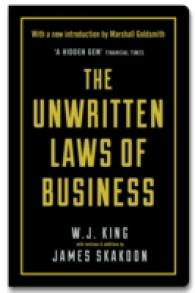 Unwritten Laws of Business -- Hardback