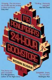 Mr Penumbra's 24-hour Bookstore -- Paperback