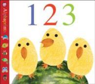 Alphaprints 123 (Alphaprints) -- Board book