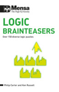 Mensa Logic Brainteasers : Over 150 Diverse Logic Puzzles -- Paperback