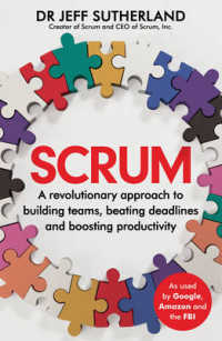 Scrum : A revolutionary approach to building teams, beating deadlines and boosting produ -- Paperback (English Language Edition)
