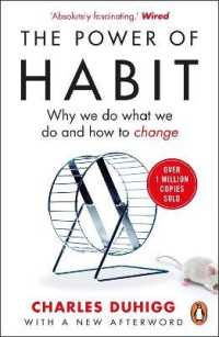 Power of Habit : Why We Do What We Do, and How to Change -- Paperback