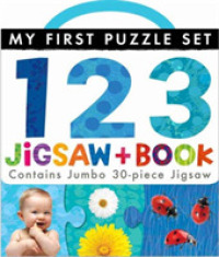 My First Puzzle Set: 123 Jigsaw and Book (My First Puzzle Set) -- Novelty book