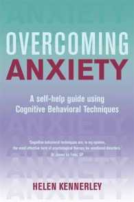 Overcoming Anxiety (Overcoming S.) -- Paperback