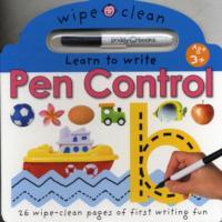 Pen Control (Wipe Clean Learning) -- Board book
