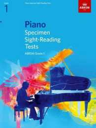Piano Specimen Sight-reading Tests, Grade 1 (Abrsm Sight-reading) -- Sheet music