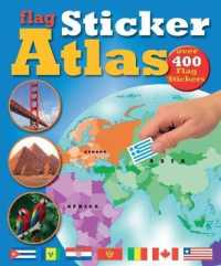 Flag Sticker Atlas -- Paperback