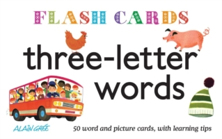 Three-letter Words : 50 Word and Picture Cards, with Learning Tips (Flash Cards)