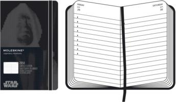 Moleskine 2014 Planner 12 Month Star Wars Daily Pocket Black (Limited)