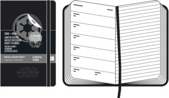 Moleskine 2014 Planner 18 Month Star Wars Weekly Notebook Pocket Black (Limited)