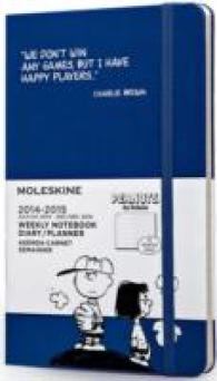 Moleskine Peanuts Weekly Notebook, Large, Antwerp Blue (Limited)