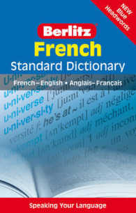 Berlitz: French Standard Dictionary : French-english : Anglais-franethcais (Berlitz Standard Dictionary) -- Paperback