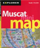 Muscat Mini Map : Mus_mmp_3 (Mini Maps) -- Sheet map, folded (3 Rev ed)