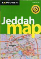 Jeddah Map (City Map) -- Paperback