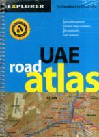 Uae Road Atlas (Regular) : Uae_atr_1 (Country Atlases) -- Paperback