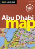 Explorer Map Abu Dhabi : Auh_map_3 (City Map) (3 FOL MAP)