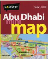 Abu Dhabi Mini Map : Auh_mmp_4 (Mini Maps) -- Sheet map, folded (4 Rev ed)