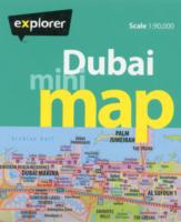Dubai Mini Map -- Sheet map, folded