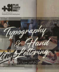 +81 <vol.79(SPRING 2>  - CREATORS ON THE LINE: Typography & Hand Lettering is