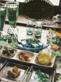 鉱物のお菓子 - 琥珀糖と洋菓子と鉱物ドリンクのレシピ