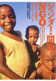 ジェンダー・開発・NGO
