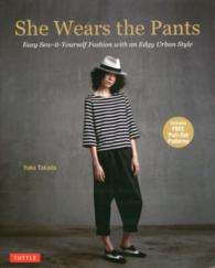 She wears the pants - easy sew-it-yourself fash