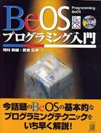 BeOSプログラミング入門