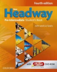 New Headway Fourth Edition Pre-intermediate Student Book with itutor Dvd-rom Pack (New)