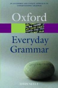 Everyday Grammar (Oxford Paperback Reference) -- Paperback