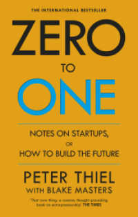 Zero to One : Notes on Start Ups, or How to Build the Future -- Paperback