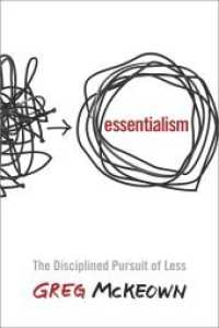 Essentialism : The Disciplined Pursuit of Less (OME C-FORMAT)