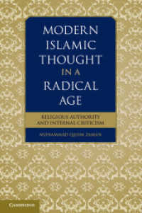 Modern Islamic Thought in a Radical Age : Religious Authority and Internal Criticism