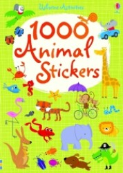 1000 Animal Stickers (1000s of Stickers) -- Paperback