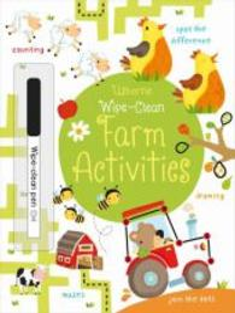Wipe-clean Farm Activities (Usborne Wipe Clean Books) -- Paperback