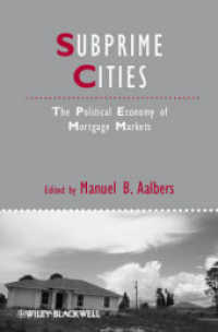 Subprime Cities : The Political Economy of Mortgage Markets (Studies in Urban and Social Change)