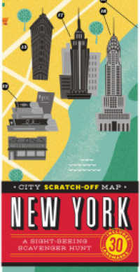 City Scratch-off Map New York : A Sight-Seeing Scavenger Hunt