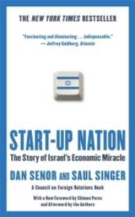 Start-up Nation : The Story of Israel's Economic Miracle -- Paperback