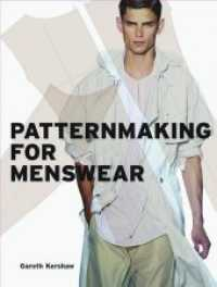 Pattern Cutting for Menswear -- Paperback