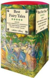 Best Fairy Tales Set (4-Volume Set) : Aesop, Hans Christian Andersen, the Bothers Grimm, Celtic Fairy Tales (Collector's Library) <4 vols.> (4 vols.) (BOX)