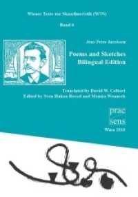 Poems and Sketches : Bilingual Edition (Wiener Texte zur Skandinavistik (WTS) Vol.3) (2011. 221 p.)