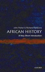 African history : pbk a very short introduction Very short introductions