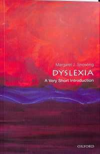 Dyslexia a very short introduction Very short introductions ; 603