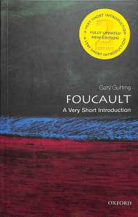 Foucault a very short introduction Very short introductions